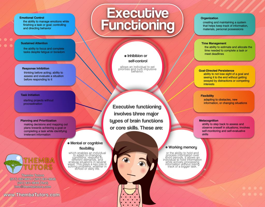 Executive Function Coaching, Themba Tutors