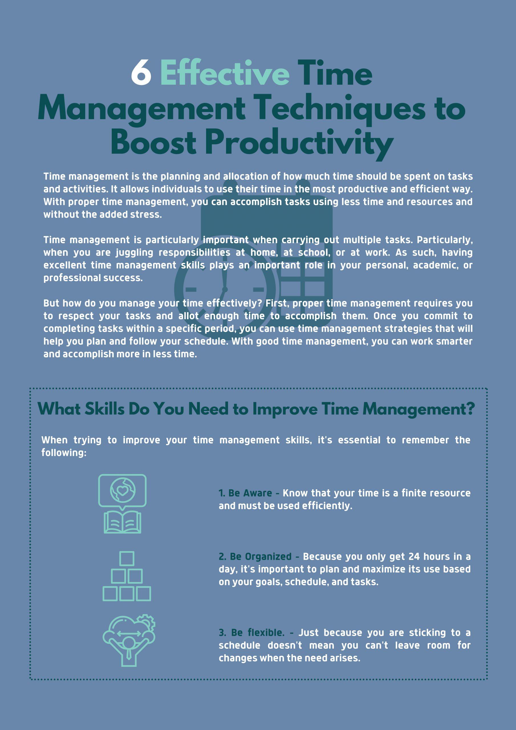 Time Management Strategies, Themba Tutors